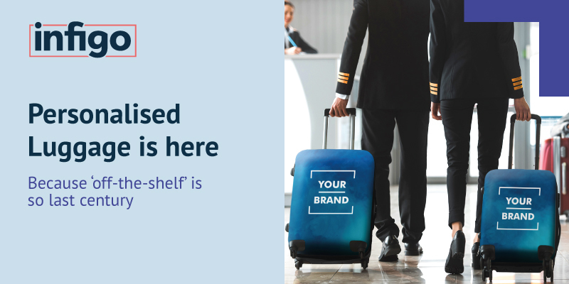 Blog: Personalised Luggage is here