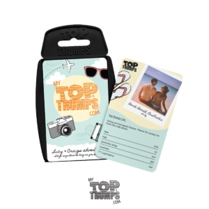 Thumbnail: My Top Trumps playing cards