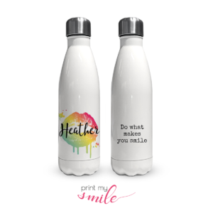 Thumbnail: Print My Smile insulated water bottles