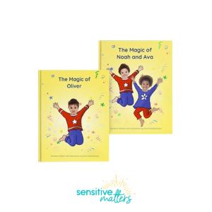 Thumbnail: Sensitive Matters personalised story books