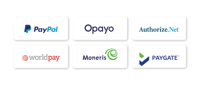 Payment provider logos